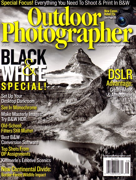 Outdoor Photographer Cover - 8/1/2013