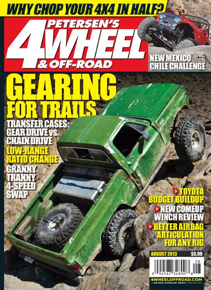 4 Wheel & Off-Road Cover - 8/1/2013