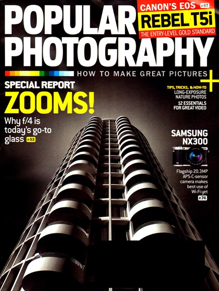Popular Photography Cover - 8/1/2013