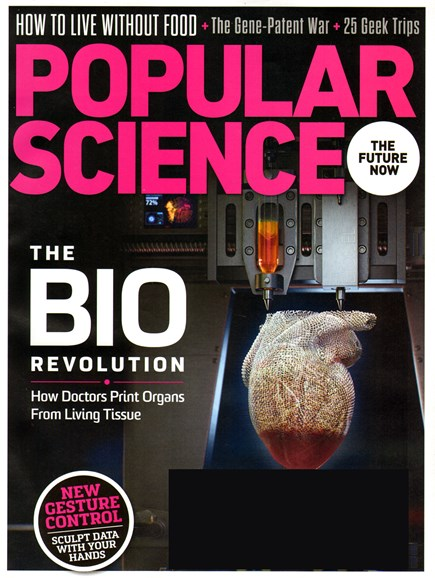 Popular Science Cover - 8/1/2013