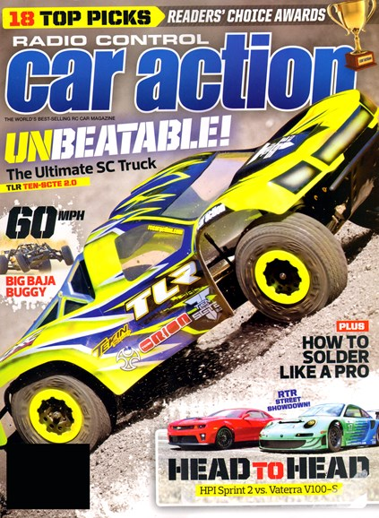 Radio Control Car Action Cover - 8/1/2013