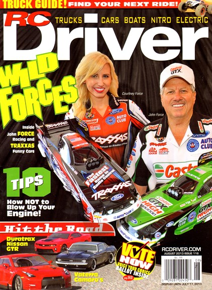 RC Driver Cover - 8/1/2013