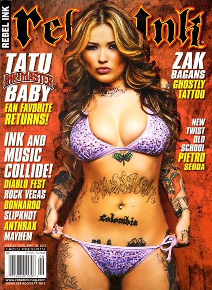 Rebel Ink Cover - 8/1/2013