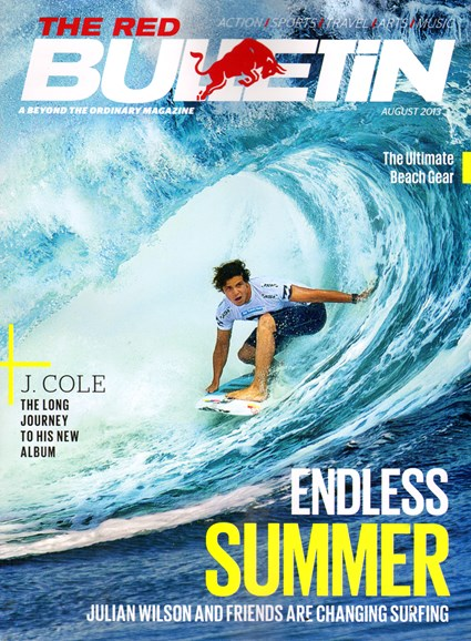 The Red Bulletin Cover - 8/1/2013