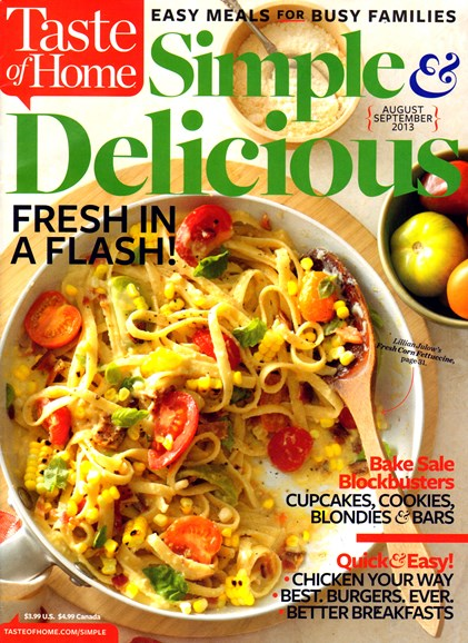 Simple & Delicious Cover - 8/1/2013