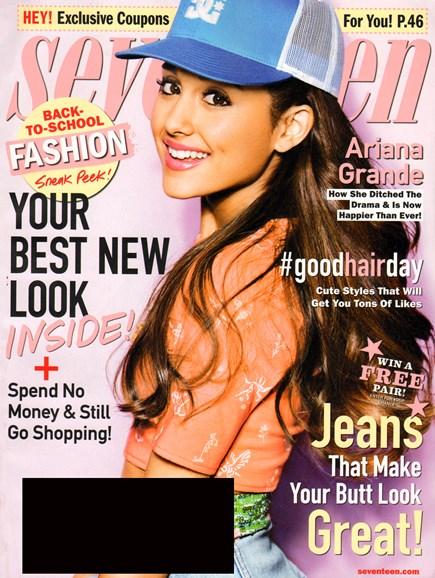 Seventeen Cover - 8/1/2013