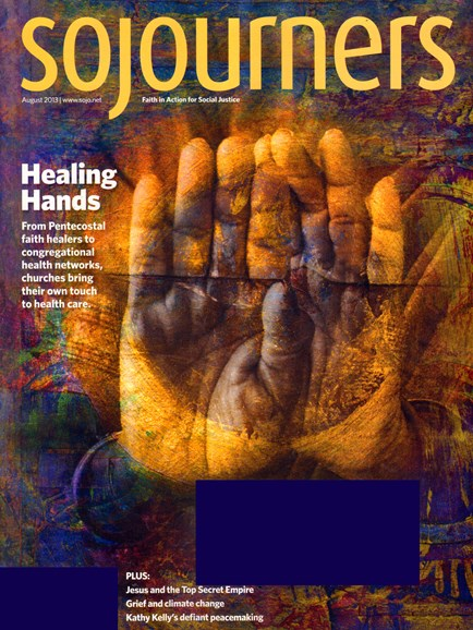 Sojourners Cover - 8/1/2013