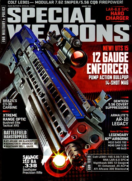 Special Weapons for Military & Police Cover - 8/1/2013