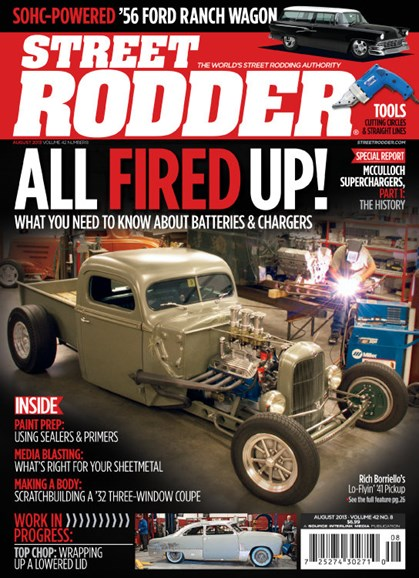 Street Rodder Cover - 8/1/2013