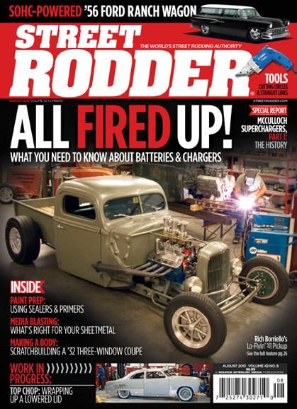 Street Rodder Cover - 8/1/2013