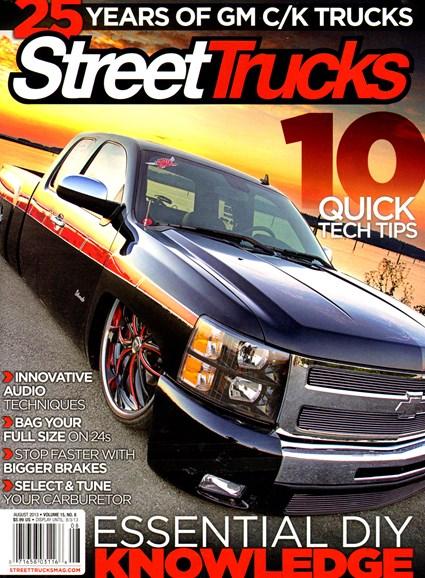 Street Trucks Cover - 8/1/2013