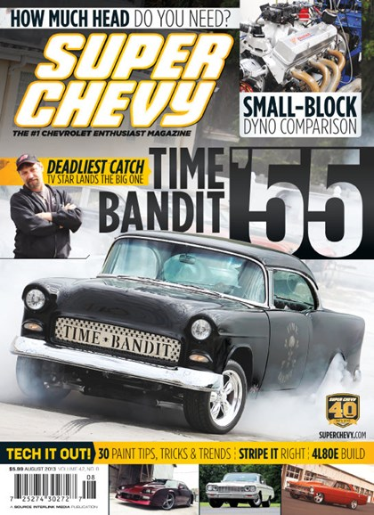 Super Chevy Cover - 8/1/2013