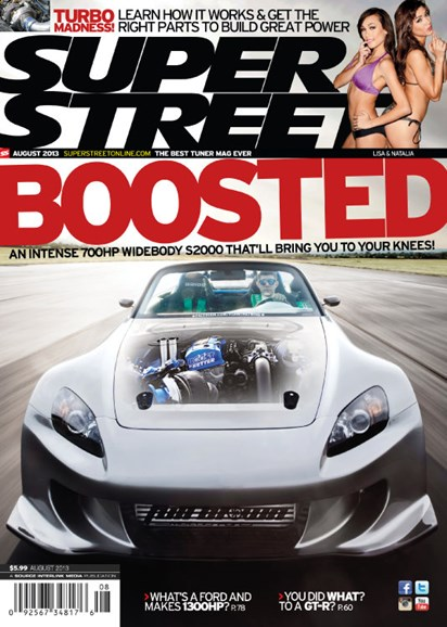 Super Street Cover - 8/1/2013