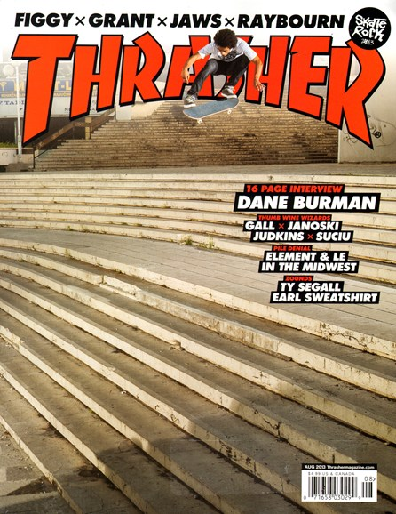 Thrasher Cover - 8/1/2013