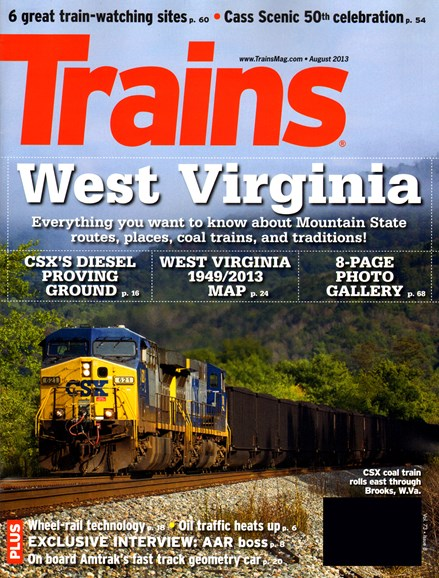 Trains Cover - 8/1/2013