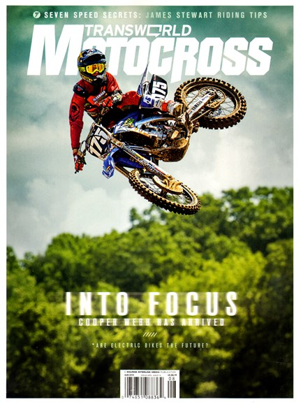 Transworld Motocross Cover - 8/1/2013