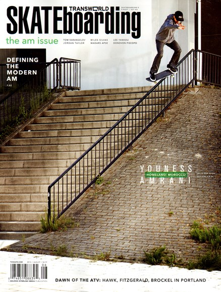 Transworld SKATEboarding Cover - 8/1/2013
