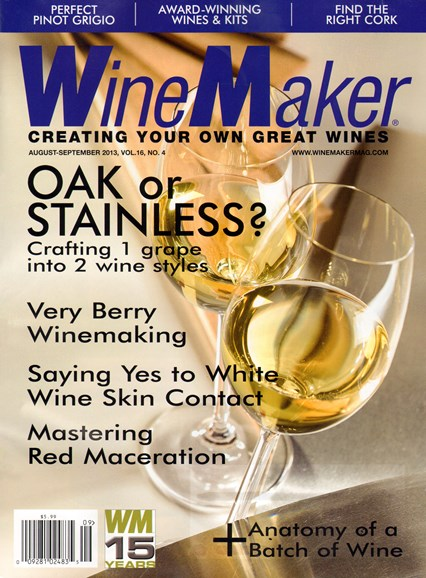 Winemaker Cover - 8/1/2013