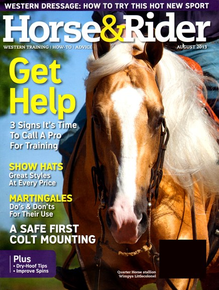 Horse & Rider Cover - 8/1/2013
