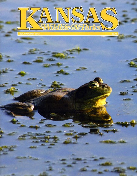 Kansas Wildlife & Parks Cover - 7/1/2013