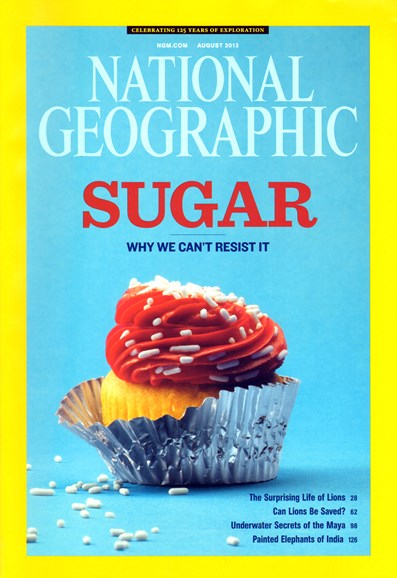 National Geographic Cover - 8/1/2013