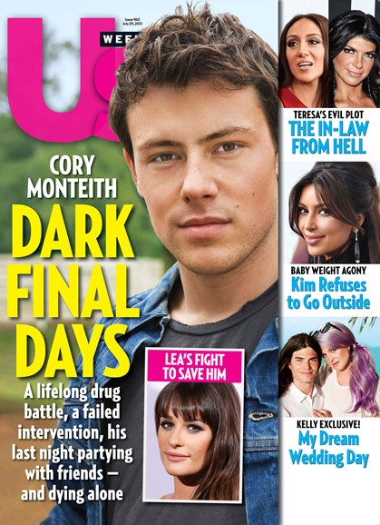 Us Weekly Cover - 7/29/2013