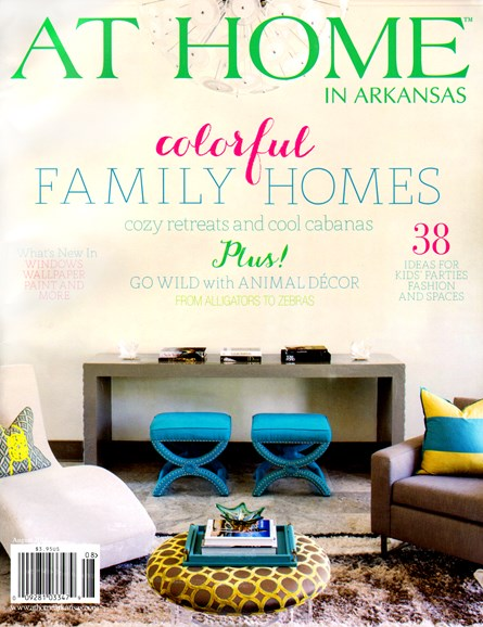 At Home In Arkansas Cover - 8/1/2013