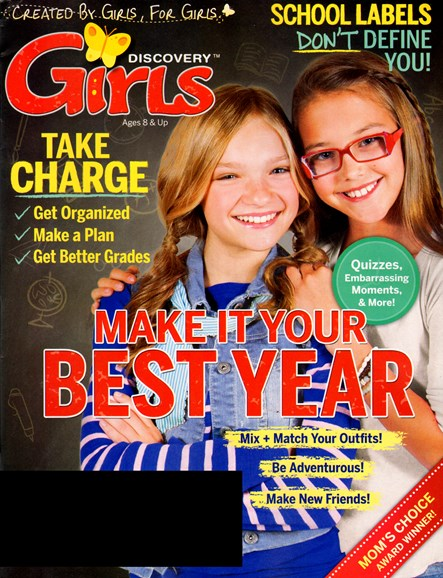 Discovery Girls Cover - 8/1/2013