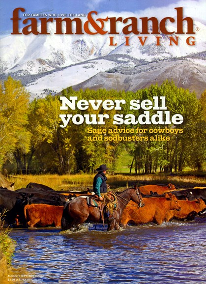 Farm & Ranch Living Cover - 8/1/2013
