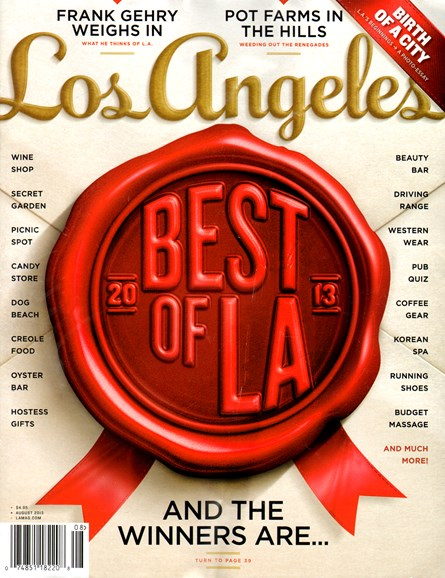 Los Angeles Cover - 8/1/2013