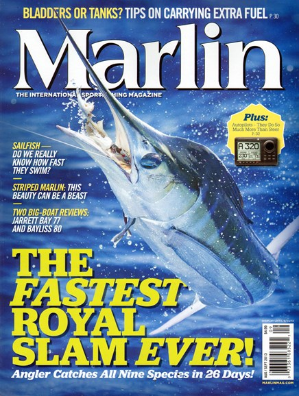 Marlin Cover - 8/1/2013