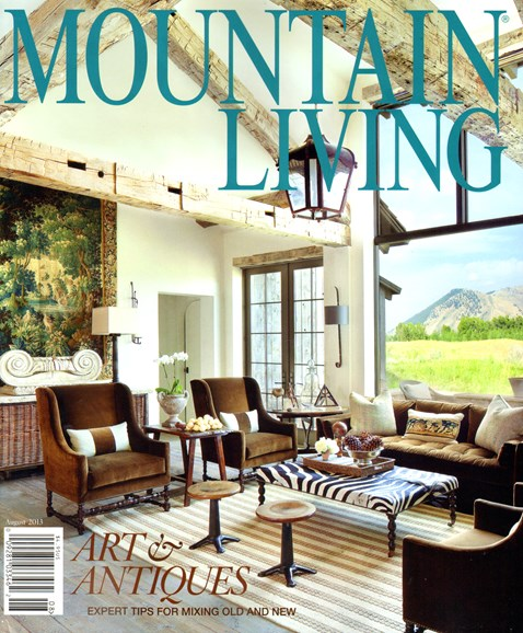 Mountain Living Cover - 8/1/2013