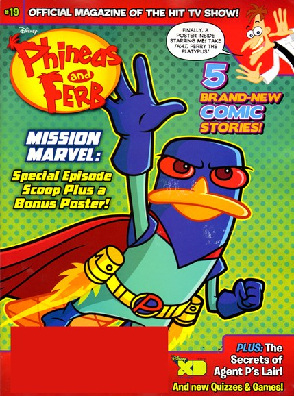 Disney Phineas & Ferb Cover - 8/1/2013