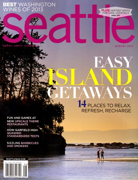 Seattle Magazine Cover - 8/1/2013
