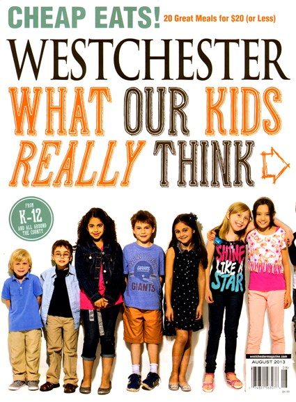 Westchester Magazine Cover - 8/1/2013