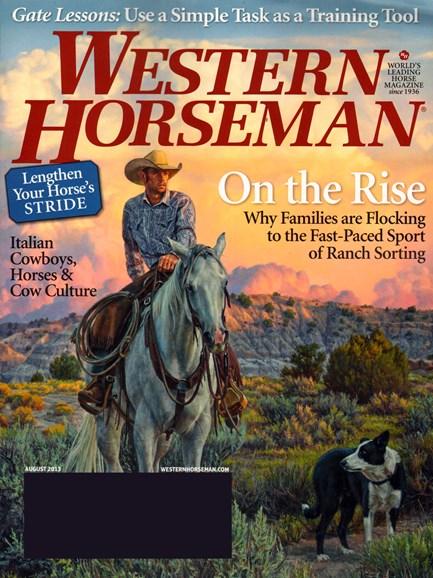 Western Horseman Cover - 8/1/2013