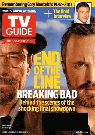 TV Guide Cover - 7/29/2013