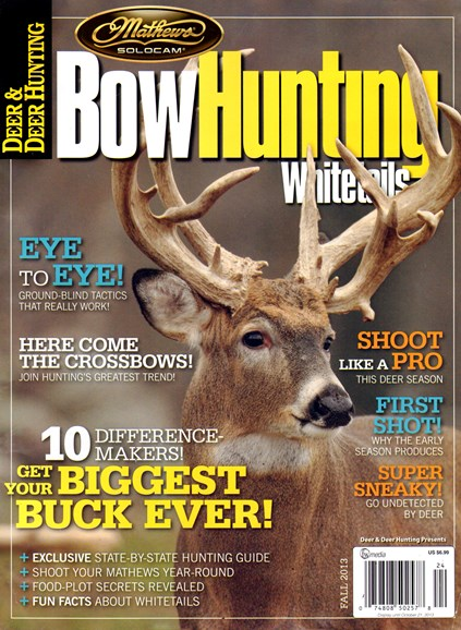 Deer & Deer Hunting Cover - 9/1/2013