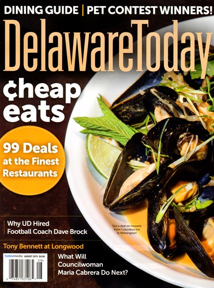 Delaware Today Cover - 8/1/2013