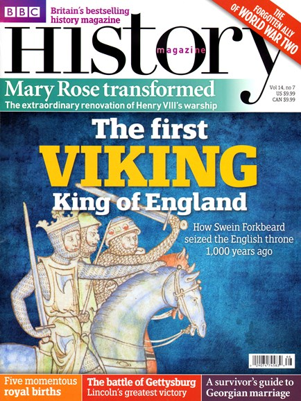 BBC History Cover - 7/1/2013