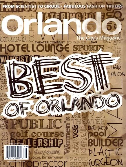 Orlando Magazine Cover - 8/1/2013