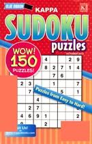 Blue Ribbon Kappa Sudoku Puzzles Magazine 10/1/2013