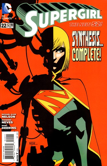 Supergirl Cover - 9/1/2013
