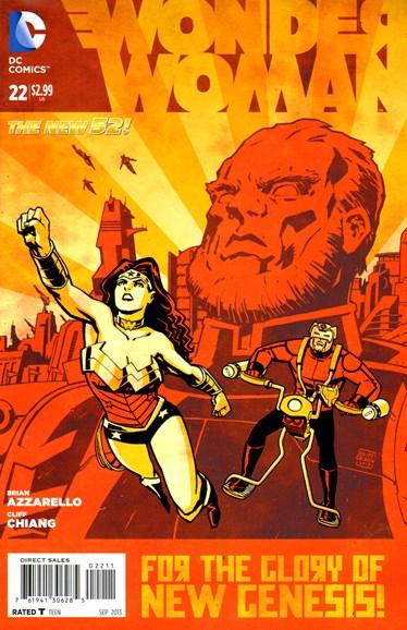 Wonder Woman Cover - 9/1/2013