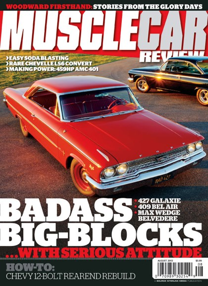 Muscle Car Review Cover - 8/1/2013