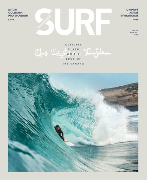 Transworld SURF Cover - 8/1/2013