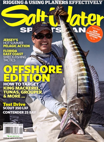 Salt Water Sportsman Cover - 9/1/2013