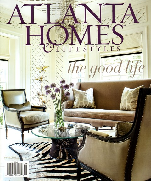 Atlanta Homes & Lifestyles Cover - 8/1/2013