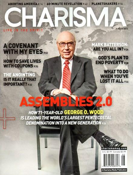 Charisma Cover - 8/1/2013