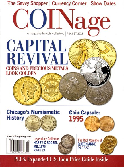Coinage Cover - 8/1/2013